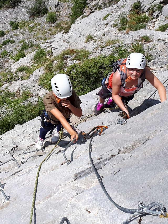 Via ferrata - Guides Esprit Montagne
