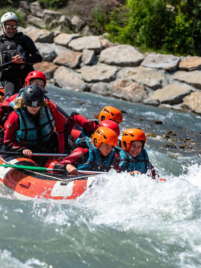 Descente canoraft rafting Séveraisse