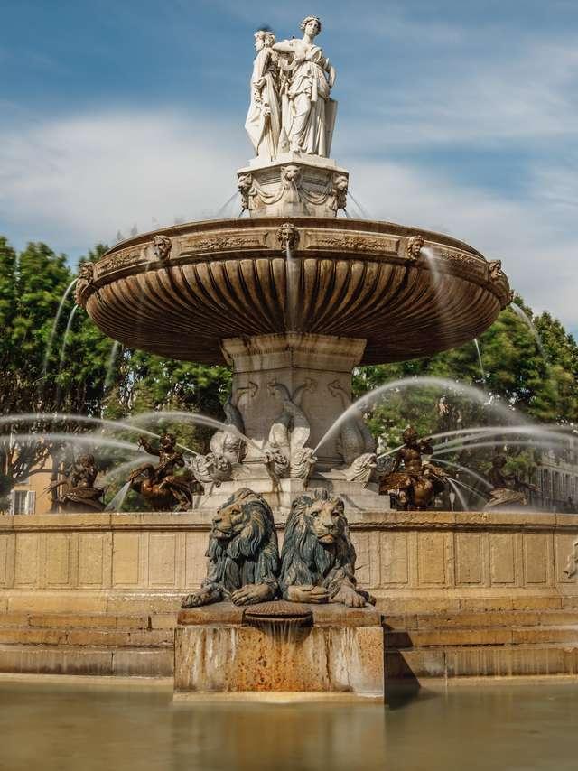 Excursion en car : à la découverte d'Aix en Provence