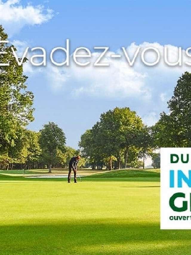 Golf : initiations gratuites