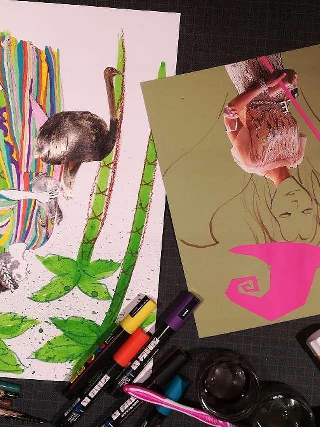 MES VACANCES AU MUSEE SOULAGES |  Atelier pour les 8 ans et plus