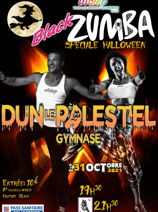 Black Zumba Halloween