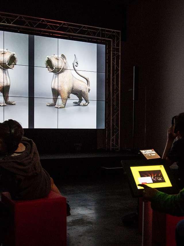 Projection sur grand écran et Atelier Histoire des légendes animales de l'Egypte à nos jours - (de 6 à 13 ans)