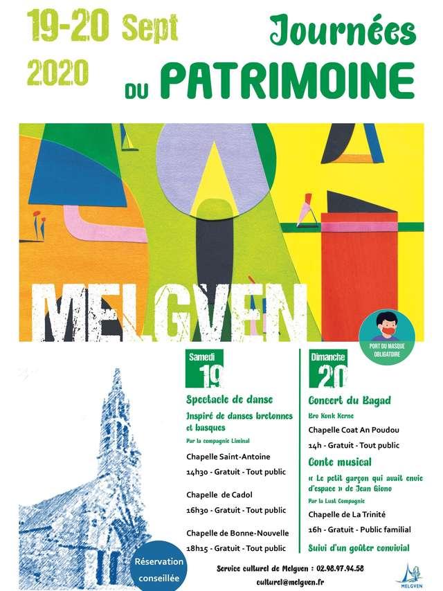 Journées du patrimoine - Chapelle de la Trinité à Melgven