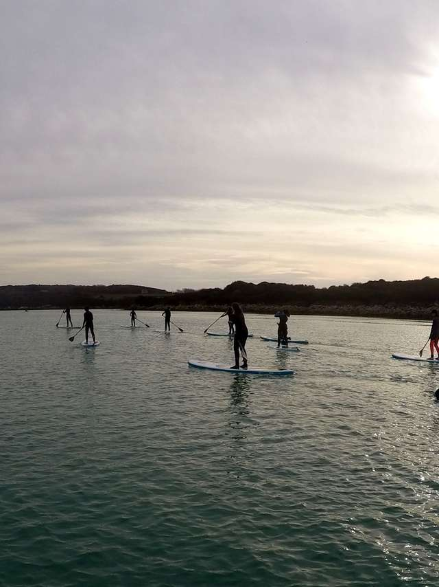 Balade en paddle