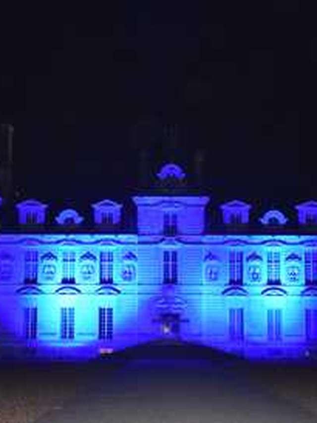 Novembre bleu au château de Cheverny