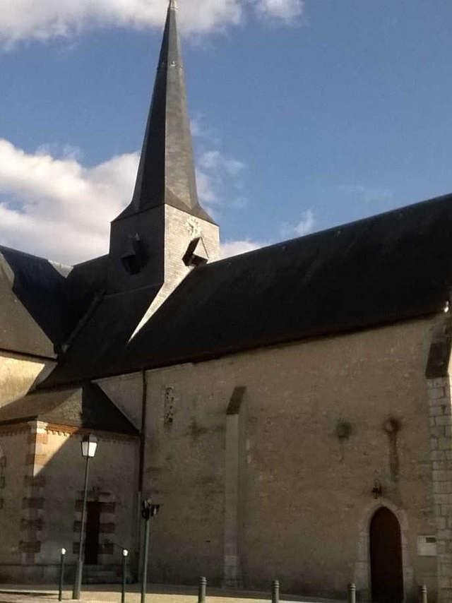 Visite-conférence de l'église Saint-Jean-Baptiste de Soings-en-Sologne