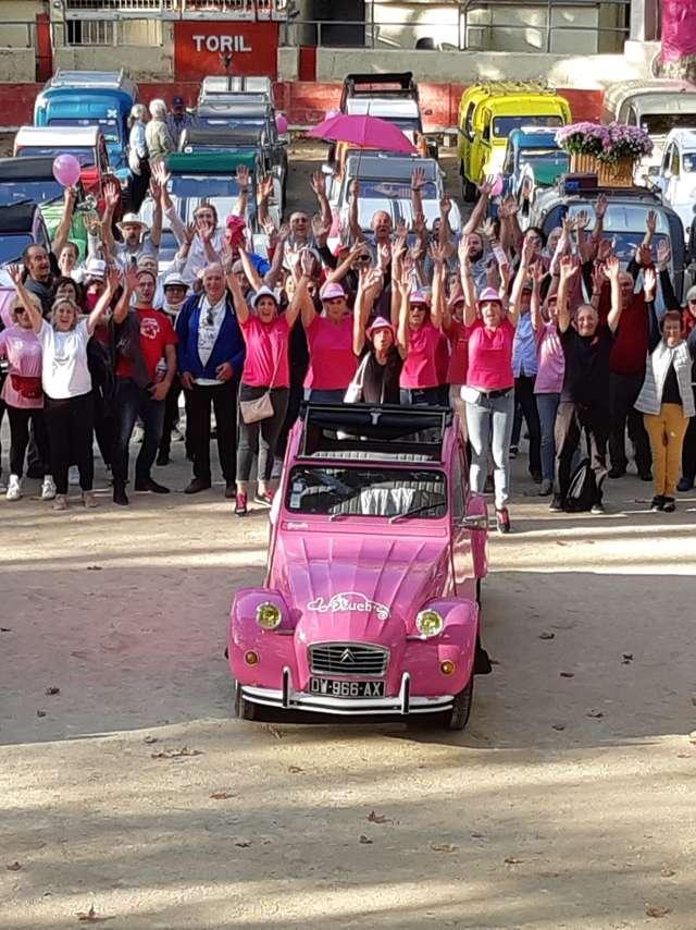[Week-end Octobre Rose] Arrivée de l'étape Paris-Dieppe du Rallye des Deuch's