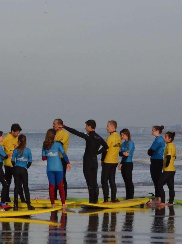 Club et école de surf - Surf' in Pourville
