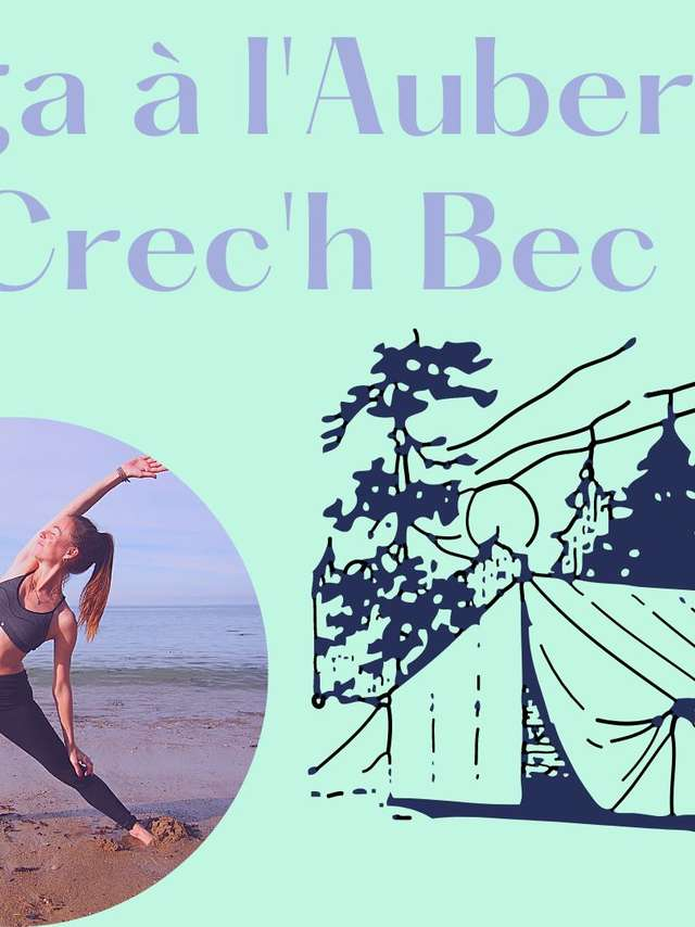 Cours de yoga sous chapiteau avec Yoga Luz