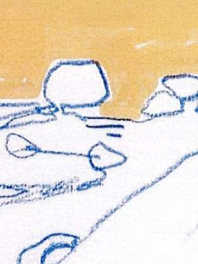 Atelier dessin bord de mer