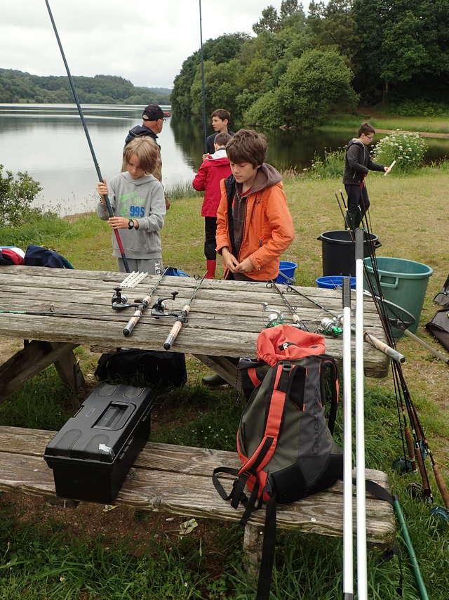 Stage d'initiation de pêche aux leurres en rivière