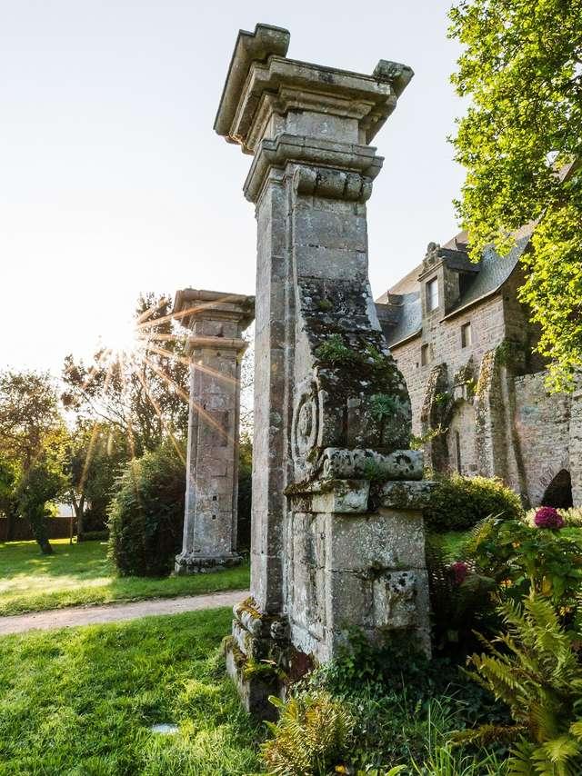 Jardin de l'Abbaye maritime de Beauport