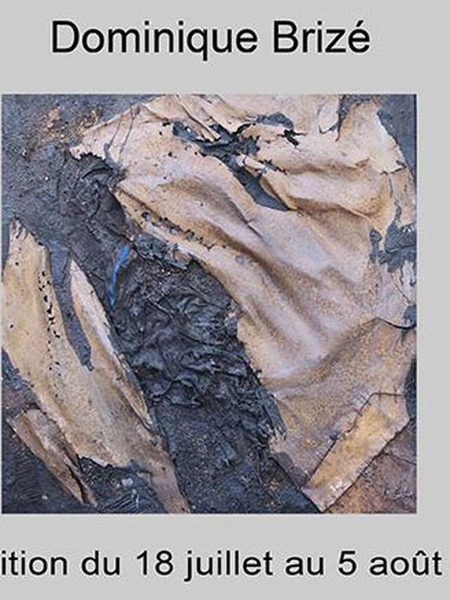 Matière(s) - Exposition de Dominique Brizé