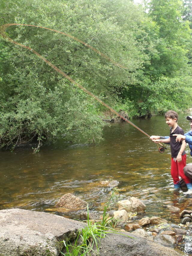 Je pêche mon 1er poisson