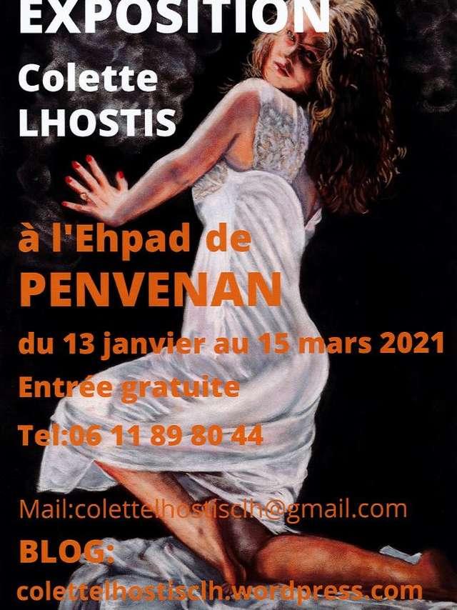Exposition de Colette Lhostis