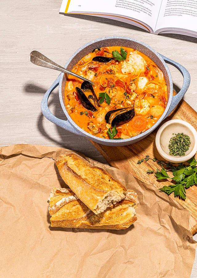 Repas Bouillabaisse