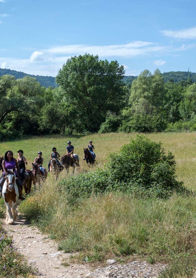 Balade à cheval : Réserve de Fondurane