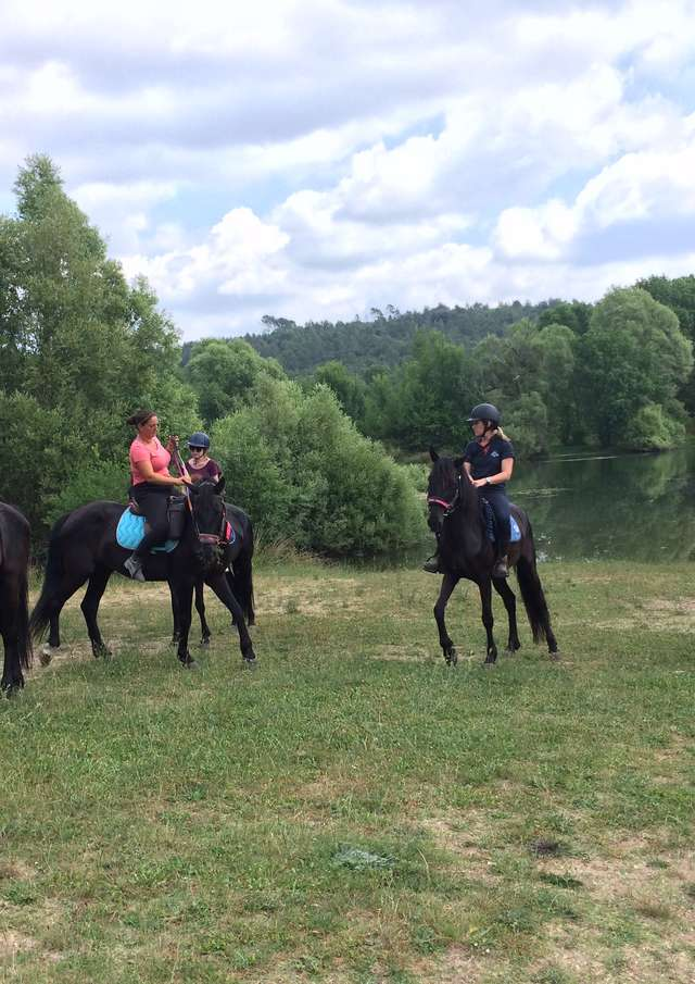 Haras des Villards: Journée détente à cheval/poney