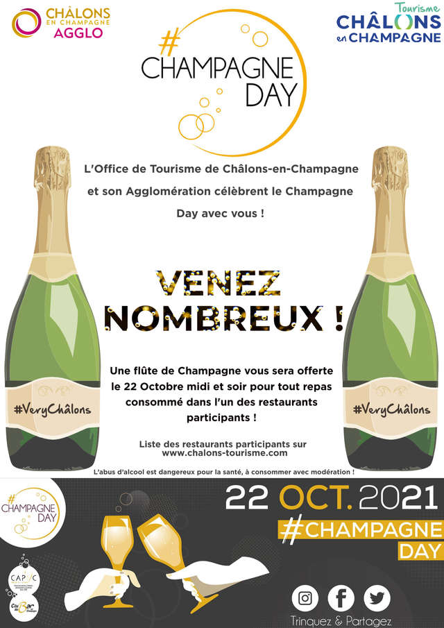 Châlons fête le Champagne day !