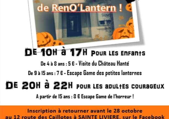 Le Château hanté de RenO'Lantern