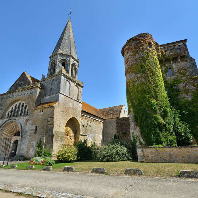 The Church of Saint-Laurent (Valley of the Frescos)