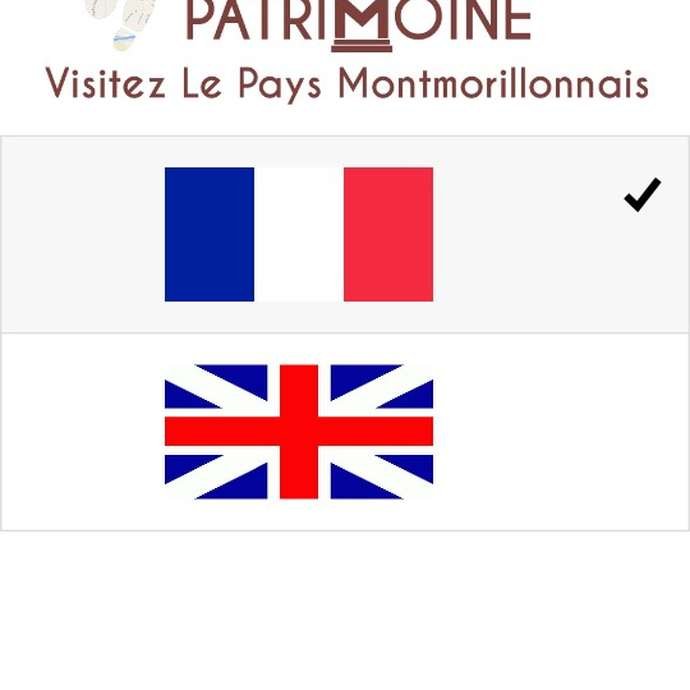 Application visite Patrimoine Montmorillon