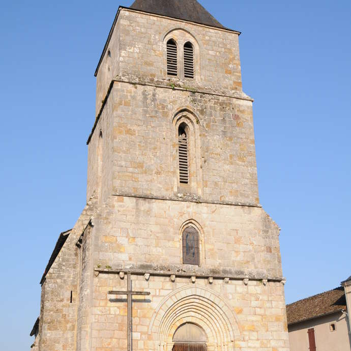 The Church of Saint-Hilaire