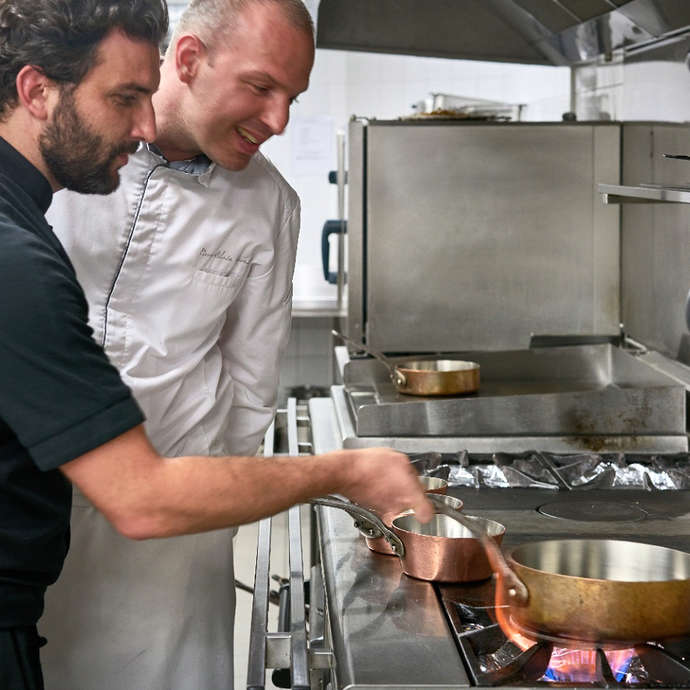 Cooking workshop at Impérial Garoupe Hotel