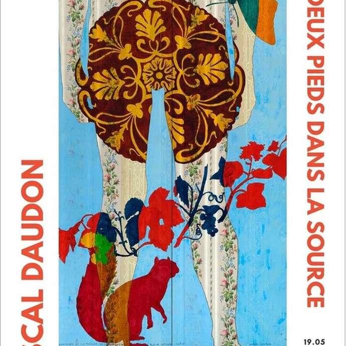 """Exposition """"Les deux pieds dans la source""""  Pascal Daudon"""
