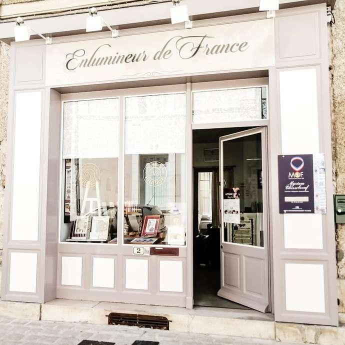 """Atelier Galerie """"Le Parchemin du Roy"""" Myriam Chesseboeuf"""