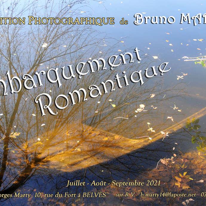 Exposition Photographique de Bruno Marty : Embarquement Romantique