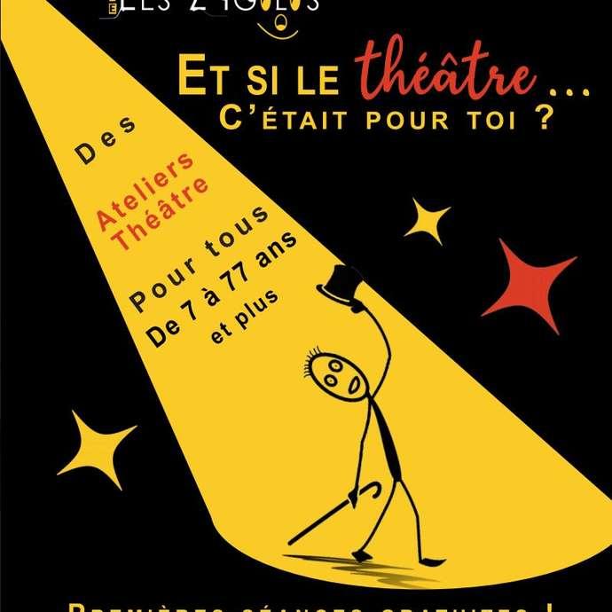 Ateliers : Et si le théâtre c'était pour toi ?