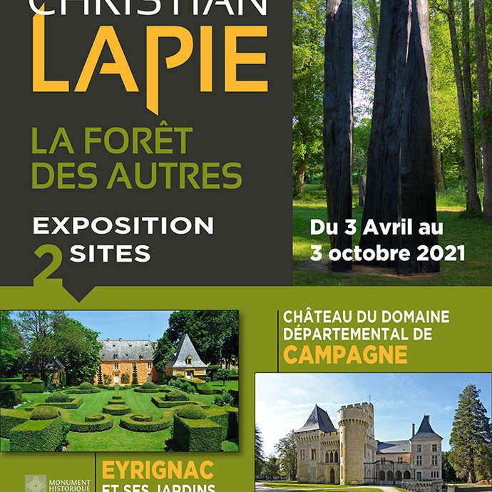 """Exposition Christian Lapie """"La Fôret des Autres"""""""