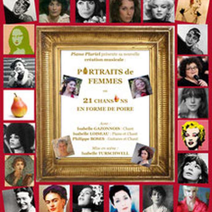Portraits de femmes ou 21 chansons en forme de poire