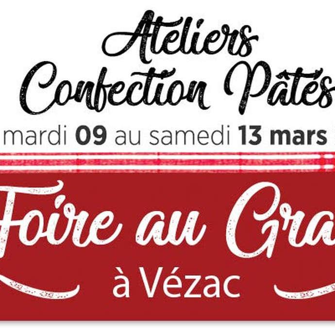 Foire au gras et Ateliers confection pâtés
