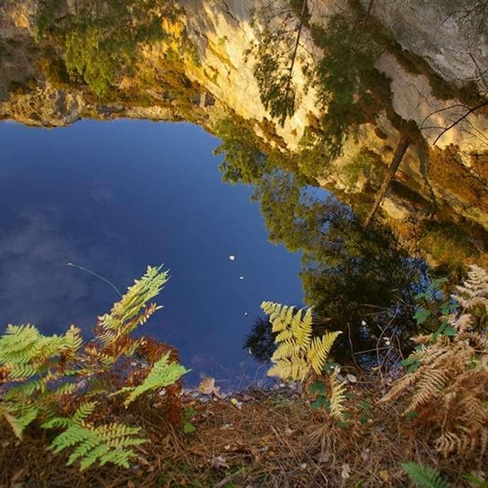 Anciennes carrières littorales - Lacs bleus