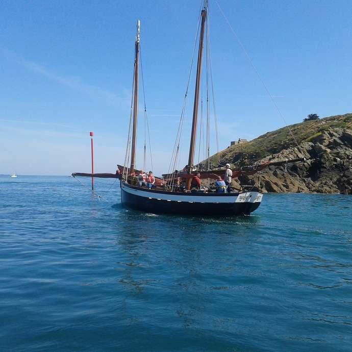 Naviguer en voilier traditionnel : La Pauline