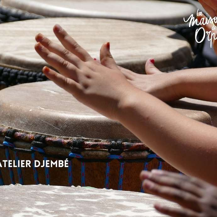 ATELIER GOUTER DJEMBE - MAISON DES ORPELLIERES