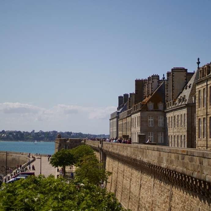 Saint-Malo accessible : les remparts Parcours 2