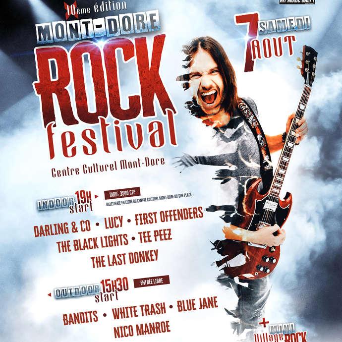 Mont-Dore Rock Festival 10ème Edition