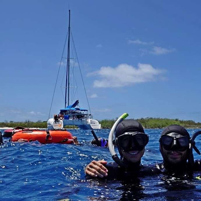 Croisière Voile & Apnée - Blue Caledonia Freediving