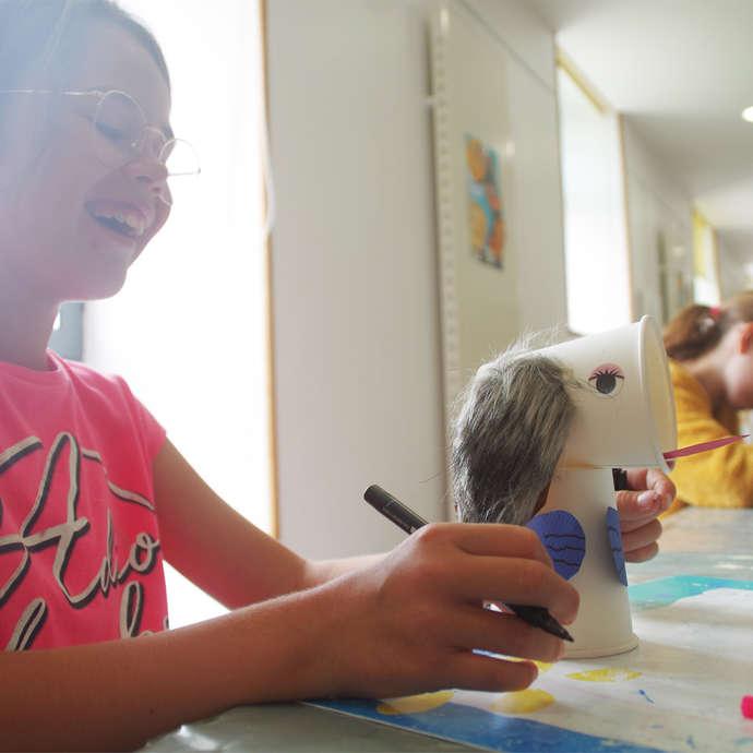 Atelier estival enfants - Marionnettes