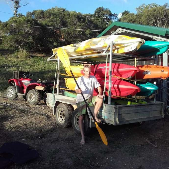 Bourail Trip Kayak