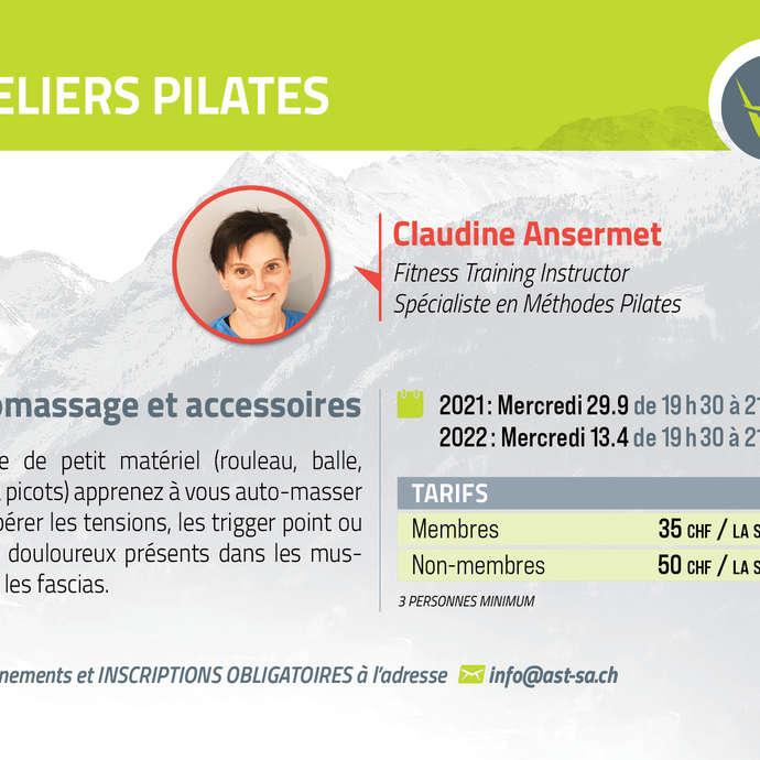 Pilates-Workshop: Selbstmassage und Zubehör