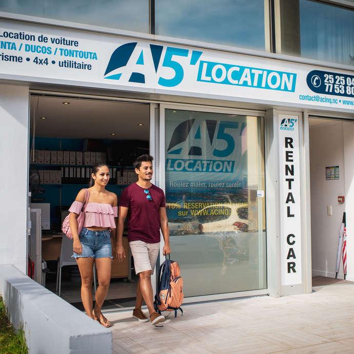 Location de voiture - A5