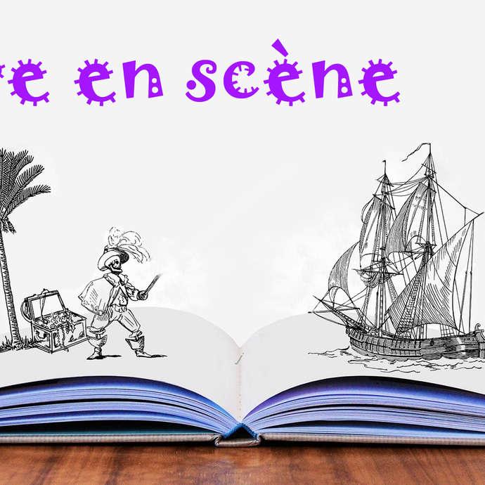 Atelier estival enfants - Livre en scène