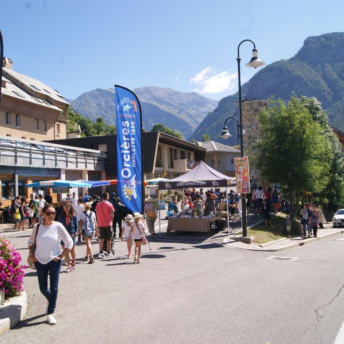 Fête de la Saint Laurent à Orcières Village