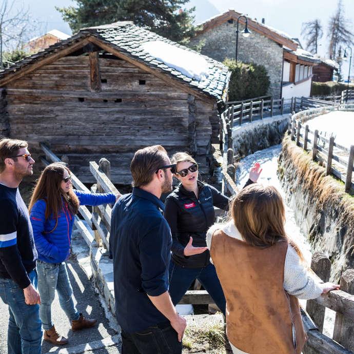 Visite guidée de Verbier-Village
