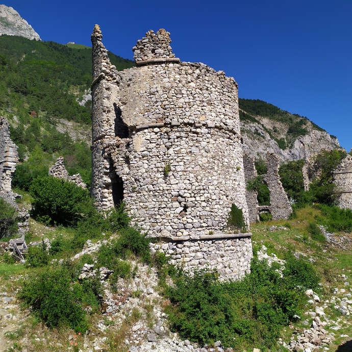 Visite de l'exposition sur le Château de Lesdiguières